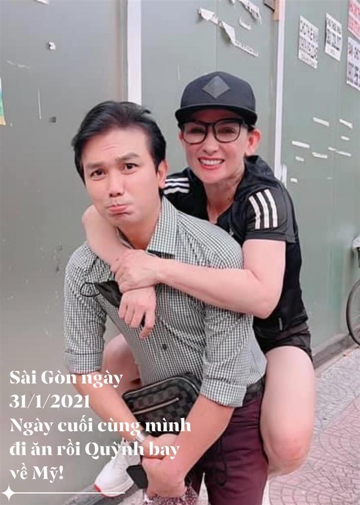 Mạnh Quỳnh đăng ảnh cuối với Phi Nhung: Không còn nước mắt